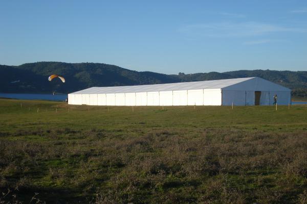 Halı saha Hangar ve Depo Çadırları